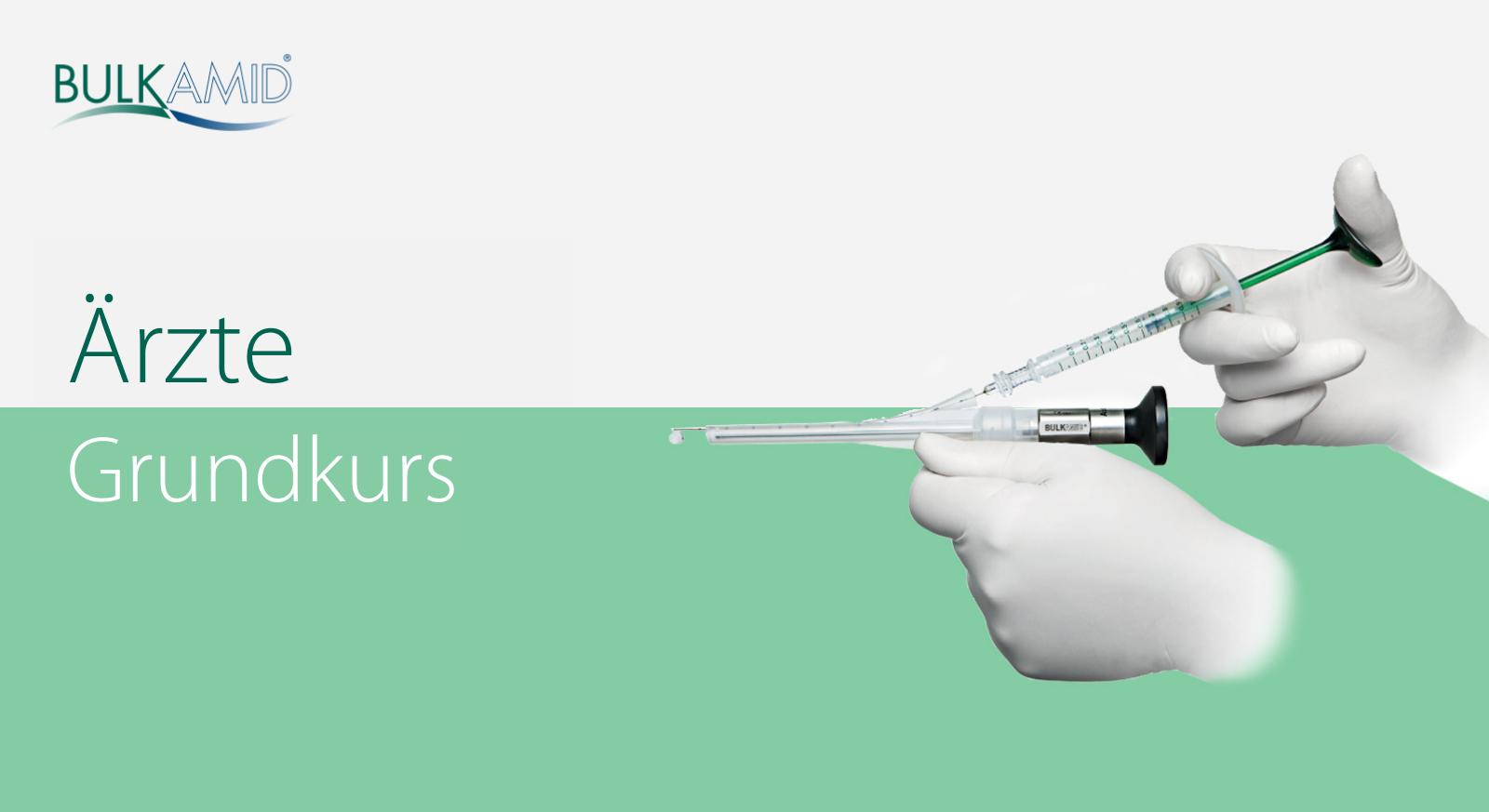 Bulkamid Online Training Grundkurs (Ärzte) DE